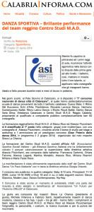 Calabria Informa 12 giugno 2014