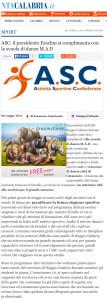 Nta Calabria 6 maggio 2014