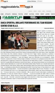 Reggio Calabria WebOggi 27 aprile 2014