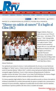 ReggioTV • 21 giugno 2015