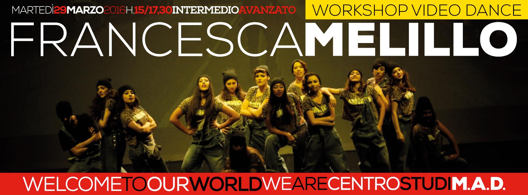 WORKSHOP w/Francesca Melillo | Video Dance