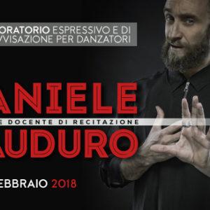 |Laboratorio espressivo e di improvvisazione per Danzatori| w/ Daniele Cauduro @ Centro Studi M.A.D.