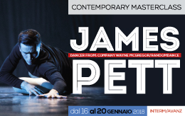 | Contemporary MasterClass | w/JAMES PETT  @ Centro Studi M.A.D.
